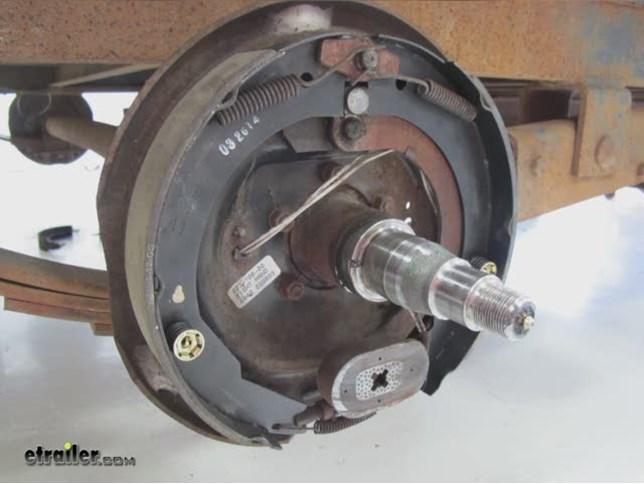 Semi Truck Brake Lining : Change brake shoes semi trailer style guru fashion