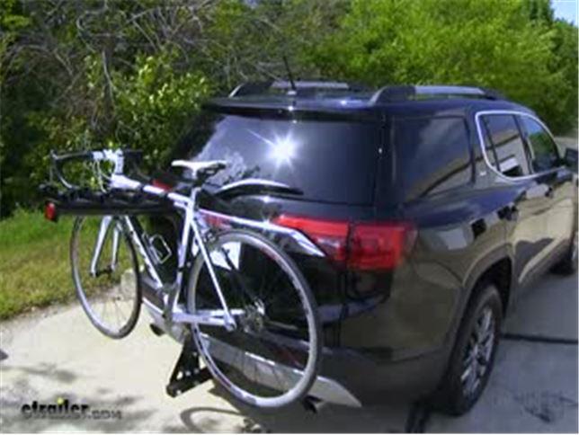 Reese Explore Hitch Bike Racks Review 2017 Gmc Acadia Video