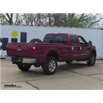 Reese Elite Series Under-Bed Gooseneck Trailer Hitch Installation - 2015 Ford F-350 Super Duty