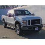 Reese Fold-Down Gooseneck Trailer Hitch Installation - 2009 Ford F-250