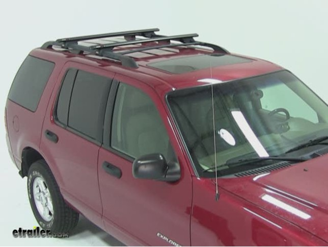 Rhino rack roof rack installation 2004 ford explorer video rhino rack roof rack installation 2004 ford explorer video etrailer sciox Image collections
