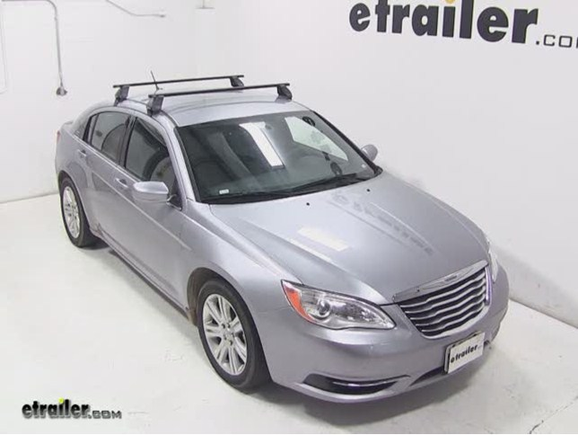 RhinoRack Euro Square Roof Rack Installation Chrysler - Chrysler 2500