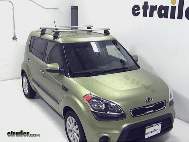 Rhino Rack Aero Roof Installation 2017 Kia Soul Etrailer Com