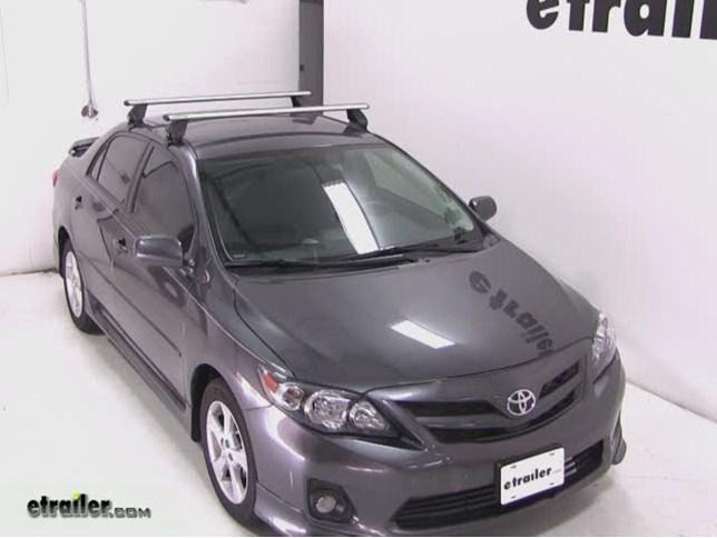 2010 Toyota Corolla Custom Dk Fit Kit For Rhino Rack 2500