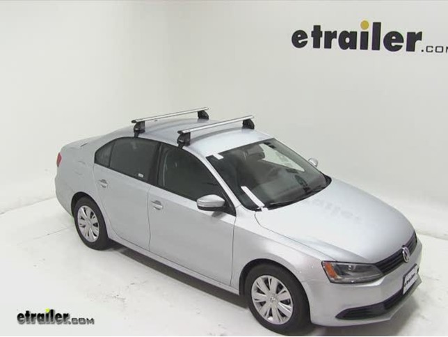 2002 Volkswagen Jetta Rhino Rack 2500 Series Roof Rack