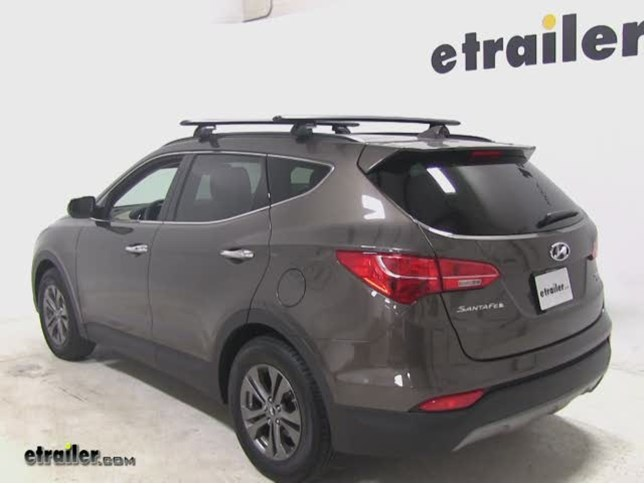 Wonderful Rhino Rack SRB Leg Kit Installation   2014 Hyundai Santa Fe Video |  Etrailer.com