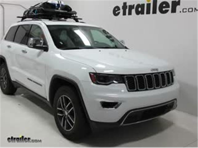 Amazing Rhino Rack Roof Basket Review   2018 Jeep Grand Cherokee Video |  Etrailer.com