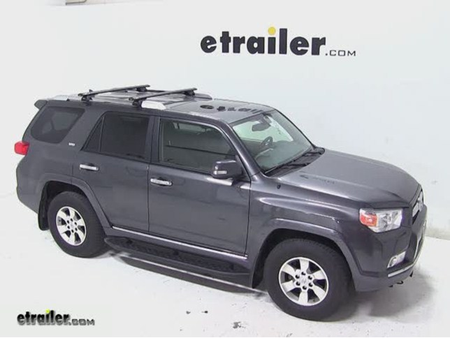 Rhino Rack SXBS Roof Rack Installation   2012 Toyota 4Runner Video |  Etrailer.com