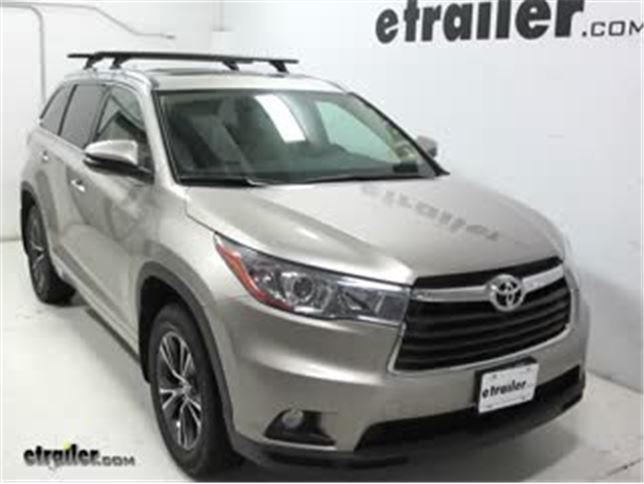 Rhino Rack Vortex Aero Roof Installation 2016 Toyota Highlander Video Etrailer