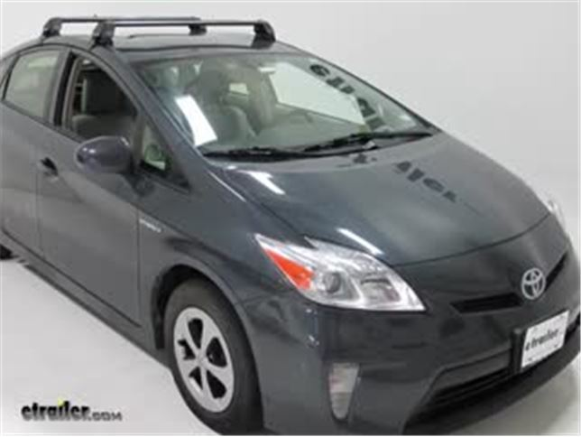 Rhino-Rack RS 2500 Roof Rack for Naked Roofs - Vortex Aero Crossbars -  Aluminum - Black