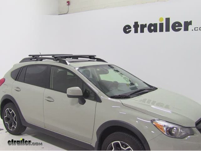Rhino Rack Vortex Aero Roof Rack Installation   2014 Subaru XV Crosstrek