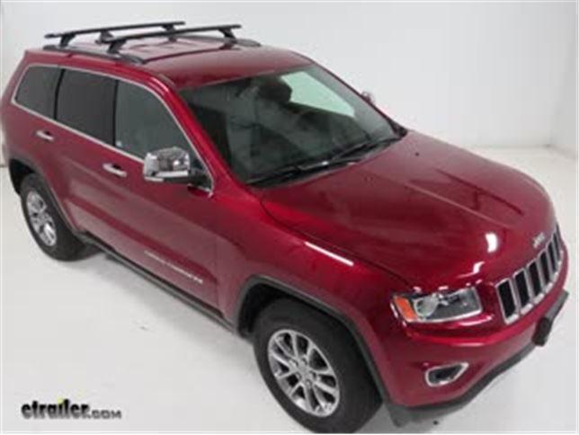 Rhino Rack Roof Rack Review   2015 Jeep Grand Cherokee Video | Etrailer.com