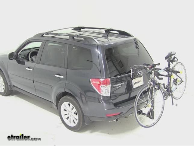 Rhode Gear Highway Hitch Bike Rack Review 2011 Subaru Forester