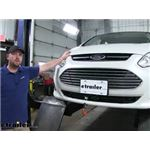 Roadmaster EZ2 Base Plate Kit Installation - 2016 Ford C-Max