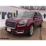 Roadmaster Base Plate Installation - 2017 GMC Acadia Limited