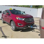 Roadmaster Tow Bar Wiring Kit Installation - 2015 Ford Edge Titanium