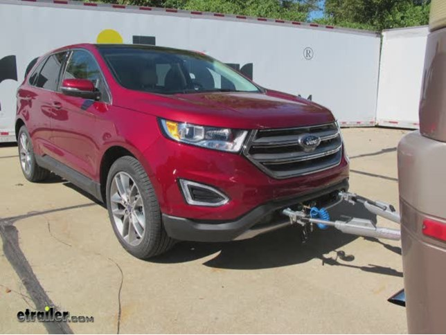 ford edge vehicle tow bar wiring etrailer com today in our 2015 ford edge we re going to show you how to install the roadmaster high power diode kit for towed vehicles part number is rm 154
