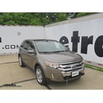 Today On This  Ford Edge Were Going To Show You The Roadmaster Xl Base Plate Kit With Removable Arms Part Number   This Is What The Base Plate