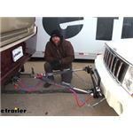 RoadMaster Blackhawk 2 All Terrain Tow Bar Installation - 2010 Jeep Commander