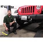 Roadmaster EZ4 Base Plate Kit Installation - 2013 Jeep Wrangler