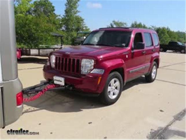 Roadmaster Even Brake Portable Braking System Installation 2012 Jeep Liberty Video Etrailer Com