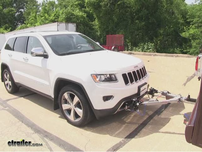 Jeep grand cherokee tow bar