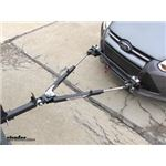 Roadmaster Car Side Tow Bar Quick Disconnects Installation - 2014 Ford Focus