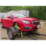 RoadMaster Tow Dolly with Electric Brakes Installation - 2016 Chevrolet Cruze