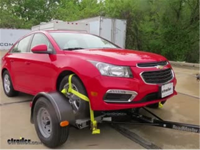 Roadmaster Tow Dolly With Electric Brakes Installation 2016