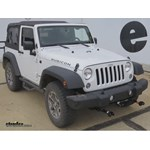 Jeep Wrangler Vehicle Tow Bar Wiring etrailercom