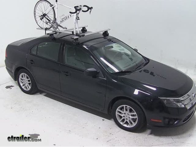 Rockymounts Tierod Roof Bike Rack Review 2017 Ford Fusion Video Etrailer