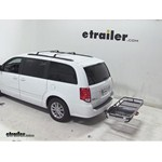 Rola Dart Folding Hitch Cargo Carrier Review - 2014 Dodge Grand Caravan