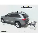 Rola Dart Folding Hitch Cargo Carrier Review - 2012 Jeep Grand Cherokee