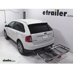 Rola Dart Folding Hitch Cargo Carrier Review - 2013 Ford Edge