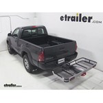 Rola Dart Folding Hitch Cargo Carrier Review - 2012 Toyota Tacoma