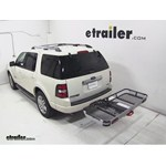Rola Dart Folding Hitch Cargo Carrier Review - 2007 Ford Explorer