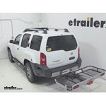 Rola Dart Folding Hitch Cargo Carrier Review - 2012 Nissan Xterra