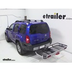 Rola Dart Folding Hitch Cargo Carrier Review - 2013 Nissan Xterra