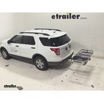 Rola Dart Folding Hitch Cargo Carrier Review - 2014 Ford Explorer
