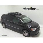 Rola Roof Cargo Basket Installation - 2010 Chrysler Town and Country