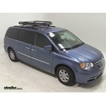 Rola Roof Cargo Basket Installation - 2011 Chrysler Town and Country