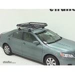 Rola Roof Cargo Basket Installation - 2011 Toyota Camry with AeroBlade Roof Rack