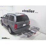 Rola Dart Folding Hitch Cargo Carrier Review - 2007 Dodge Durango