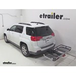Rola Dart Folding Hitch Cargo Carrier Review - 2013 GMC Terrain