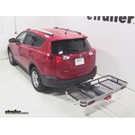 Rola Dart Folding Hitch Cargo Carrier Review - 2013 Toyota RAV4