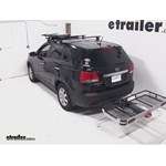 Rola Dart Folding Hitch Cargo Carrier Review - 2012 Kia Sorento