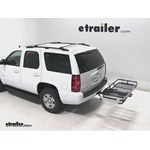 Rola Dart Folding Hitch Cargo Carrier Review - 2013 Chevrolet Tahoe