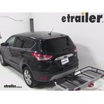 Rola Dart Folding Hitch Cargo Carrier Review - 2013 Ford Escape