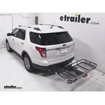 Rola Dart Folding Hitch Cargo Carrier Review - 2013 Ford Explorer