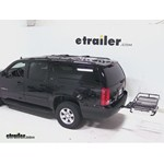 Rola Dart Folding Hitch Cargo Carrier Review - 2013 GMC Yukon XL